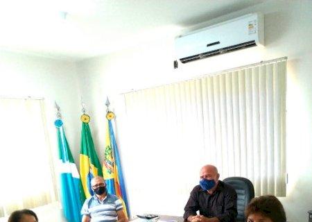 Dema se reúne com representantes de Entidades Não Governamentais e diretor do DEMTRIVI