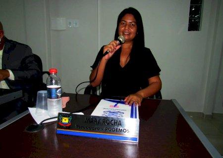 IVINHEMA: Vereadora Mary Rocha solicitou uma ambulância exclusiva para o CEM e Operação Tapa-Buracos em rua do Bairro Piravevê