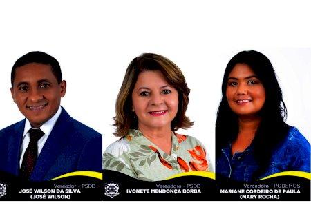 IVINHEMA: José Wilson, Ivonete Mendonça e Mary Rocha requerem asfaltamento da estrada que liga Bairro Eco Park ao Polo Industrial e 2 novos ônibus para o município