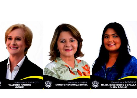 Vereadoras Ivonete, Mary e Denir pedem isenção de impostos para a construção da sede da Rede Feminina de Combate ao Câncer