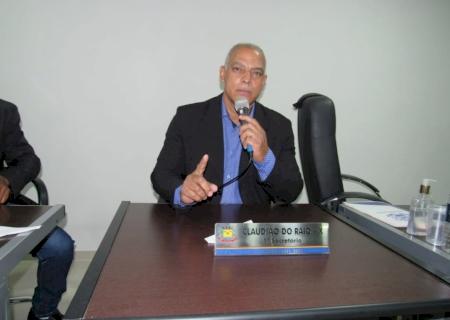 IVINHEMA: Claudião do Raio-X indicou a contratação de um Psiquiatra e também recursos para reformar a Escola Estadual Joaquim Gonçalves Ledo