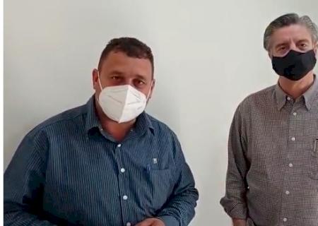 IVINHEMA: Atendendo pedido do vereador Bira, o Deputado Dagoberto Nogueira garante recursos para Ivinhema