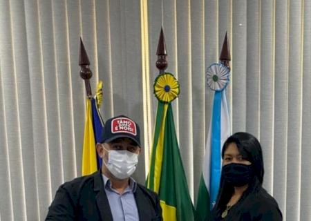 IVINHEMA: Vereadora Mary Rocha se reúne com Prefeito Juliano para buscar melhorias à população