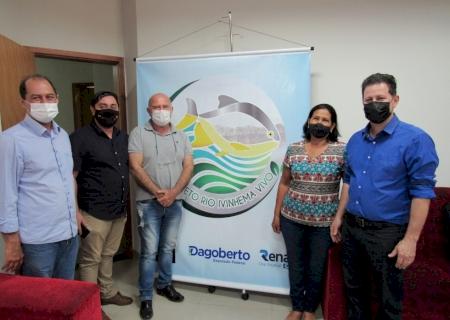 """Presidente Dema participa de lançamento do projeto """"Rio Ivinhema Vivo"""" no município de Angélica"""