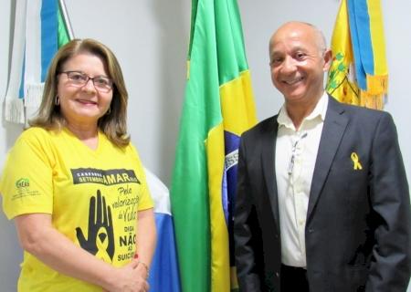 IVINHEMA: Os vereadores Ivonete e Gersinho pedem um segurança para o CEM (Centro de Especialidades Médicas)